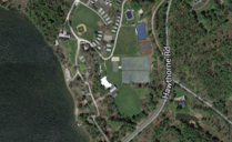 birds eye view shot of Camp Mah-Kee-Nac location